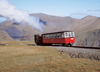 welsh mountain railway